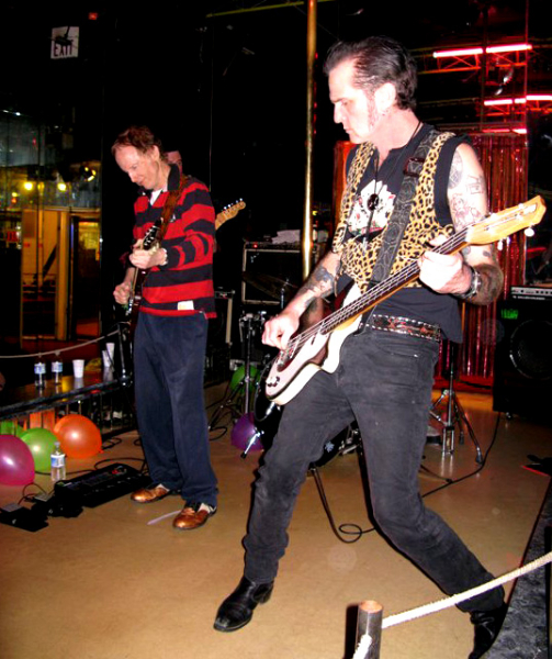 onstage with Robby Krieger of the Doors