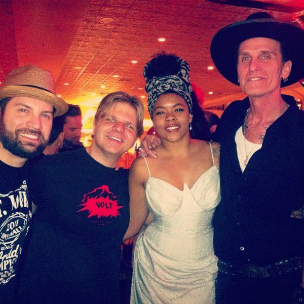 With the Nikki Hill Band at Viva Las Vegas 2013