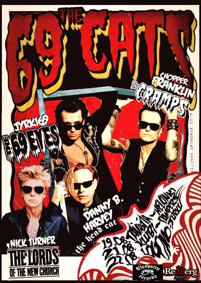 69 Cats Finland poster copy
